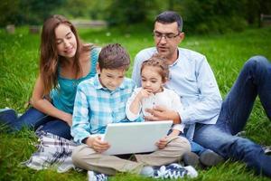 Família moderna foto