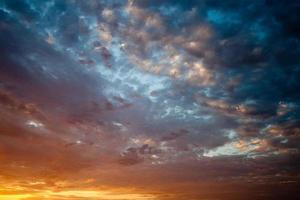 pôr do sol do arizona foto