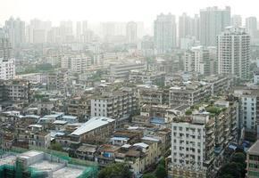 cena urbana de guangzhou foto
