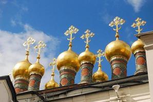 torres da igreja, moscou foto