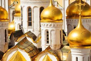 close-up vista da cúpula da Catedral da Anunciação foto