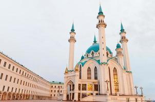 a mesquita kul sharif em kazan kremlin, tartaristão, rússia