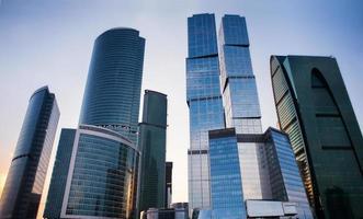 torres de negócios foto