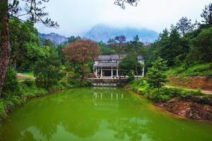 montanha yandang em wenzhou, china