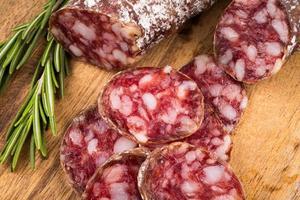 fatias de salame