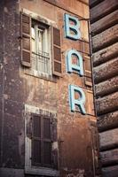 bar café rom restaurante altstadt foto