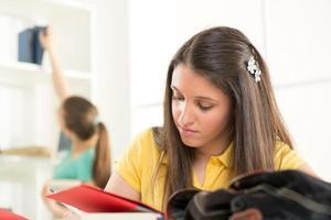 estudante Feminina foto