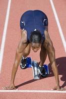 atleta feminina foto