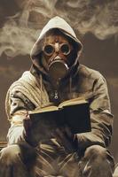 estudante pós-apocalíptico