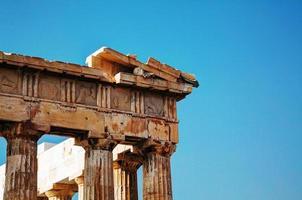 Partenon na Acrópole de Atenas, Grécia foto