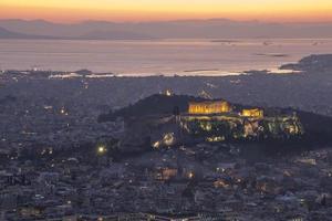 acrópole, atenas, grécia foto