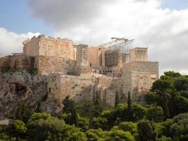 acrópole atenas grécia foto