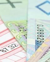dinheiro polonês foto