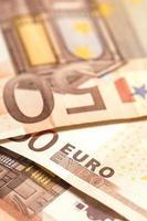 dinheiro europeu foto
