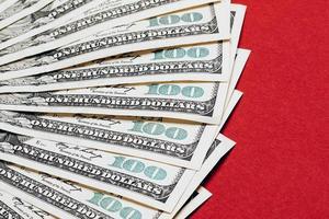 dinheiro closeup foto