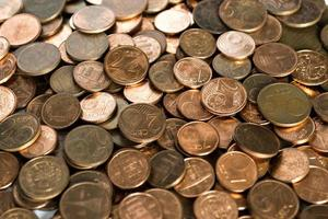 dinheiro: moedas em euros