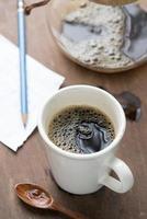 xícara de café expresso foto