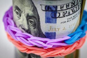 pacote de dinheiro foto
