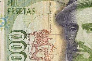 dinheiro de papel da espanha