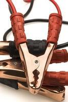 cabo de reforço de bateria de carro foto