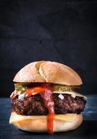 hambúrguer saboroso