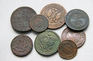 moedas reais foto