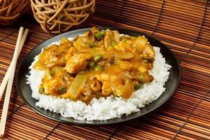 Curry de galinha foto