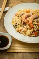 comida oriental foto