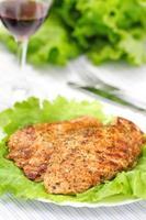 filé de frango assado com legumes