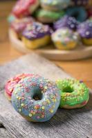 rosquinhas coloridas foto
