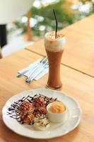 caramelo de café gelado foto