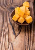 porção de queijo cheddar foto