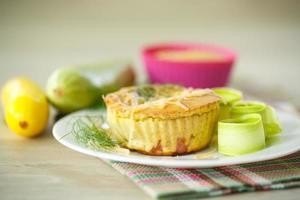 muffins de abobrinha foto