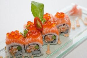 alimentos de fusão japonesa foto