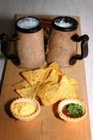 nachos de cerveja foto