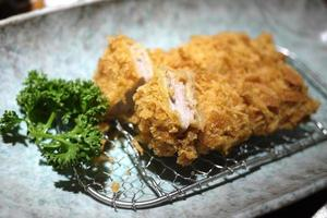 tonkatsu japonês foto