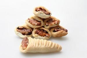 baklava maamoul - massa de sobremesa tradicional levant foto