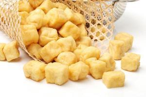 bolha de tofu foto