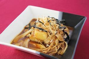tofu frito foto
