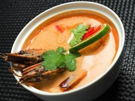 sopa de missô, comida japonesa foto