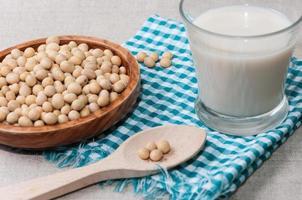 leite de soja foto