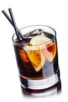 coquetel de whisky cola foto