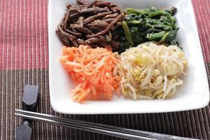 cozinha coreana, namul kimchi foto