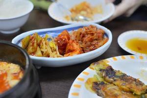 almoço coreano foto