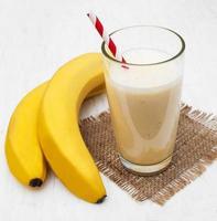 vitamina de banana foto