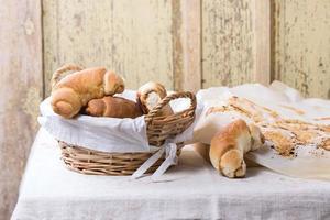 bagels frescos foto
