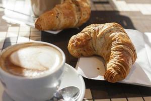 café da manhã europeu foto