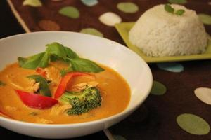 caril tailandês