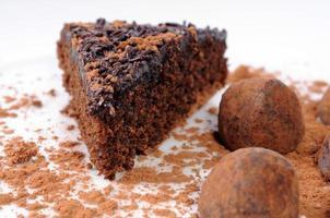 bolo de chocolate foto