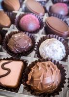 caixa de chocolate foto
